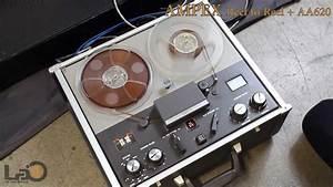 Ampex Reel-to-reel Tape Recorder 1260   Aa620