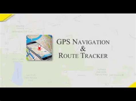 Gps Navigation & Route Tracker Youtube
