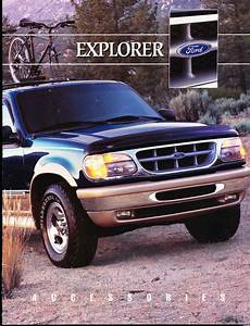 1998 Ford Explorer Original Car Dealer Accessories