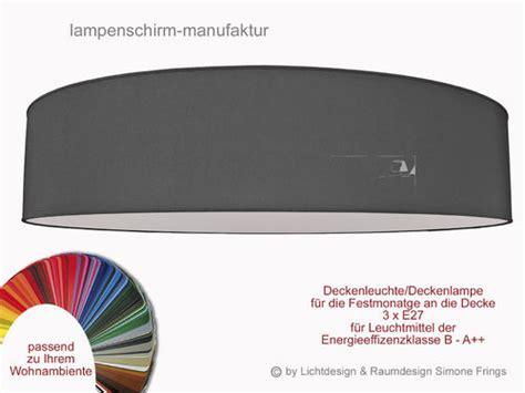 deckenleuchte stoff 70 cm deckenleuchte 70 cm 3 x e27 lenschirm onlineshop