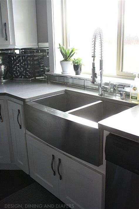 the whole kitchen sink 25 best ideas about stainless steel farmhouse sink on 6090