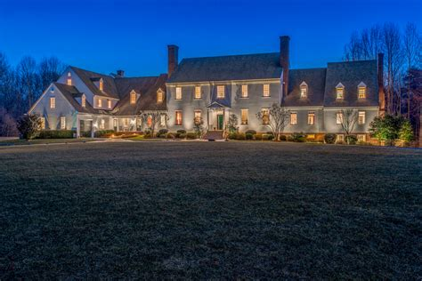 square foot georgian colonial mansion  dickerson md homes   rich