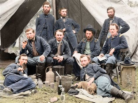 the color war amazing american civil war photos turned into glorious