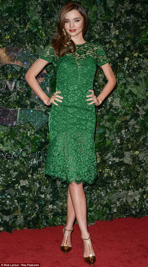 emerald green dress  black lace fashion week
