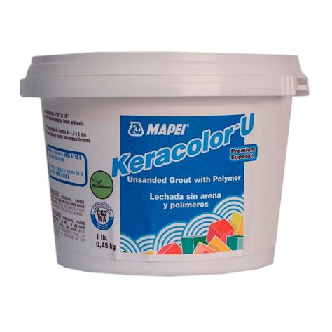 mapei keracolor u 00 white 1 lb unsanded grout 80028