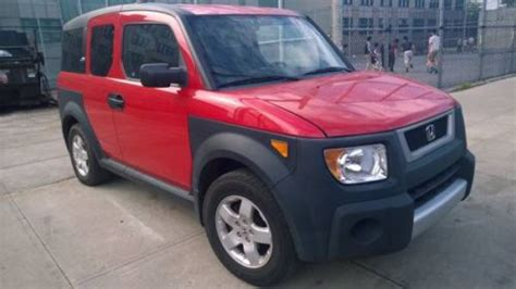 Find Used 2005 Honda Element Ex 4wd Manual 5-speed