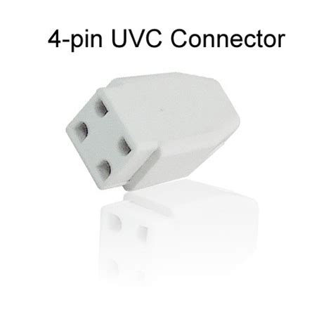 4 pin uv l connector uvc connector