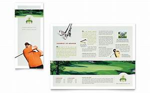 Training Course Flyer Template Golf Course Instruction Flyer Ad Template Design