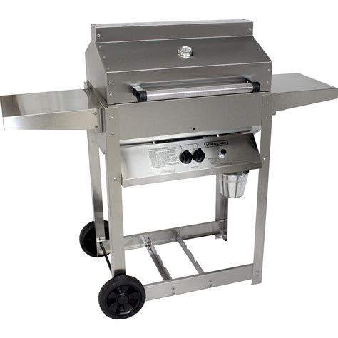 stainless steel gas grills grill sd stainless steel gas riveted grill