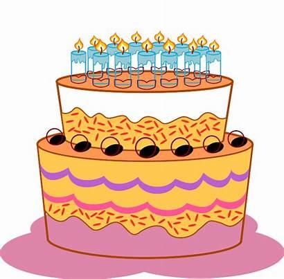 Cake Birthday Clipart Cakes Cliparts Clip Clipartpanda