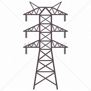 Electric tower Vector Image - 1332420 | StockUnlimited