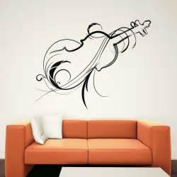 decorative violin wall art decals wall stickers transfers ebay