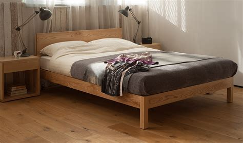 Scandinavian Bed Frame : Rustic Bedroom Design with