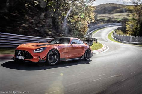 The black series has been synonymous with a very special type of car since 2006: 2021 Mercedes-Benz AMG GT Black Series - Dailyrevs