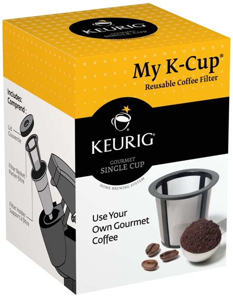 Simple flip of the thumb easy open lid. AmazonSmile: Keurig My K-Cup Reusable Coffee Filter ...