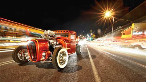Papéis De Parede Retro Carro, Estrada, Noite 1920x1080