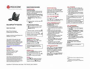 Download Free Pdf For Polycom Soundpoint Ip 331 Telephone