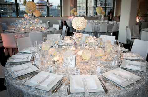 Classic White And Silver New York Wedding 11
