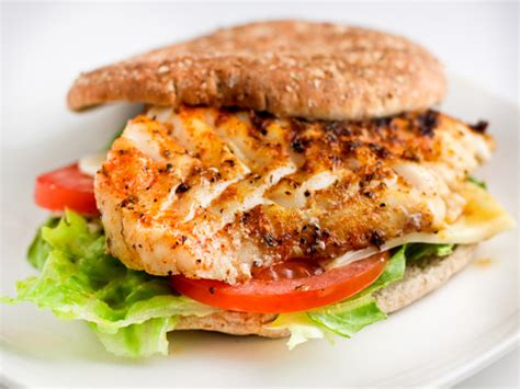 grouper sandwich fish recipes burger recipe grilled fresh herb fried food cooked sandwiches fine lunch tasty crusted tastykitchen healthier kitchen