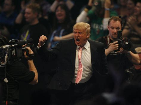 president trump tweets doctored clip    wrestlemania beating  cnn ny daily news