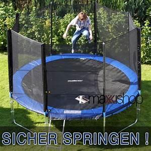 Trampolin Netz 366 : trampolin 305 366 430 cm sicherheitsnetz 10 12 14 ft netz ~ Whattoseeinmadrid.com Haus und Dekorationen