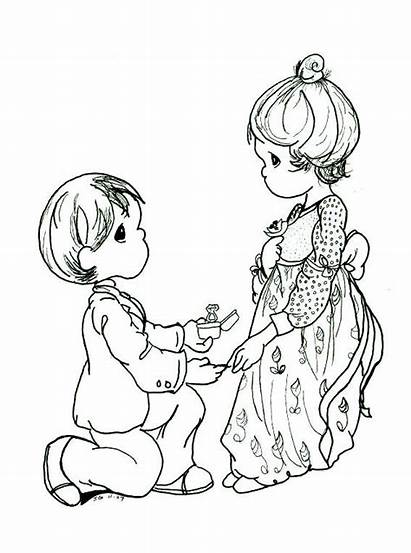 Precious Moments Coloring Pages Printable Christmas Books