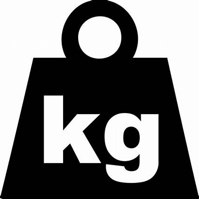 Weight Vector Kilogram Svg Kg Icon Commons