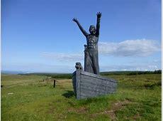 Manannán mac Lir sculpture, Gortmore © Kenneth Allen