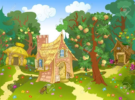 House In Forest Clipart Collection