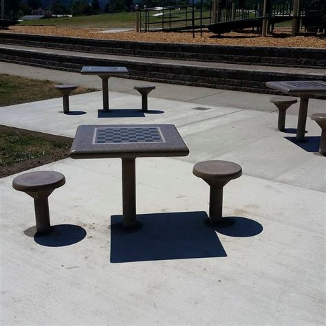 outdoor chess table concrete chess tables concrete tables 1290