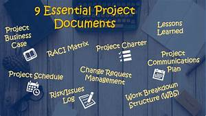 A Quick Guide To 9 Essential Project Documents