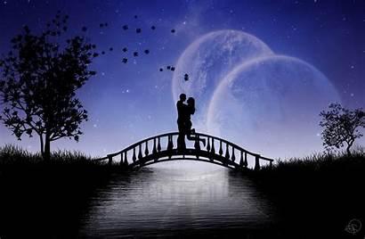 Romantic Couple Wallpapers Desktop Backgrounds Space Photoshop
