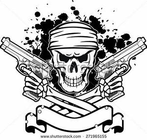 Gun Skull Stock Images, Royalty-Free Images & Vectors ...