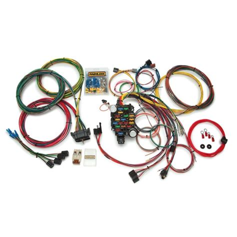 1952 Chevy Truck Wiring Harnes by Painless 10206 67 72 Chevy Gmc C10 K10 28 Circuit