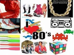 I Love The 80s Collage