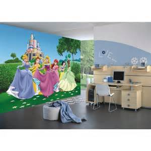 papier peint xxl ch 226 teau princesse disney 360x255 cm