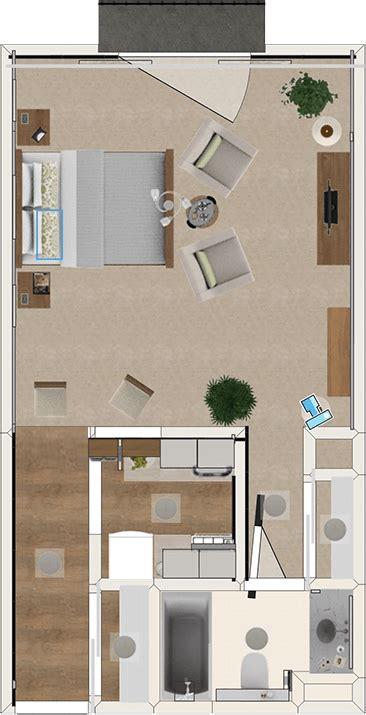 senior studio apartments  floor plans  features