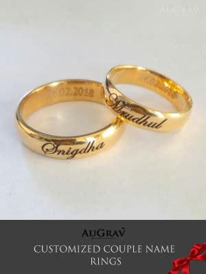 custom platinum rings gold rings name engraved platinum rings rings gold