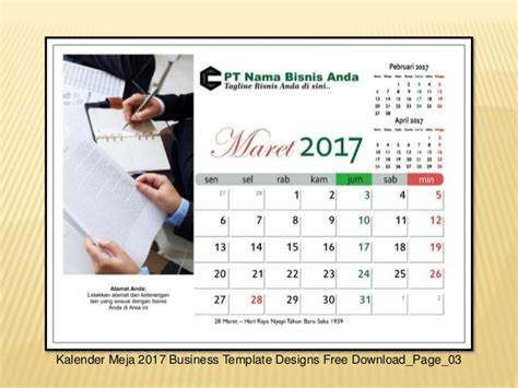 Desktop Calendar Template Costumepartyrun