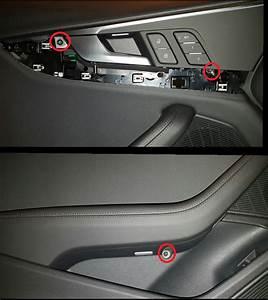 Audi A4 Circle Warning Light Diy Add Red Door Warning Light And Remove Door Panel B9