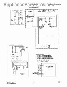 Parts For Frigidaire Fghb2844lf6  Wiring Diagram Parts