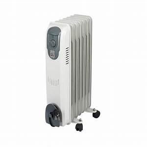 Radiateur Electrique Portable : rempli d 39 huile portable radiateur rechargeable lectrique ~ Melissatoandfro.com Idées de Décoration