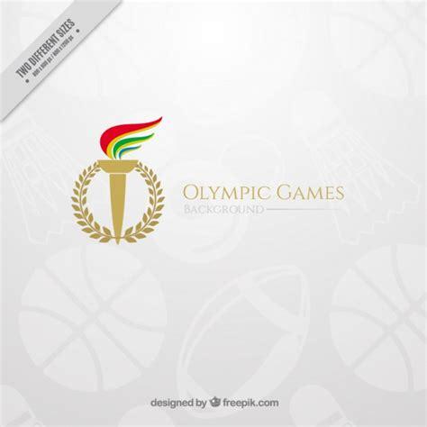 el 233 gant fond des jeux olympiques avec une torche t 233 l 233 charger des vecteurs gratuitement