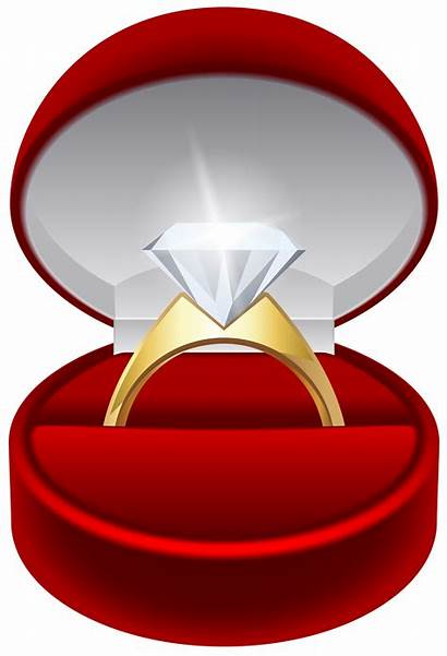 Engagement Ring Transparent Clip Clipart Diamond Jewelry
