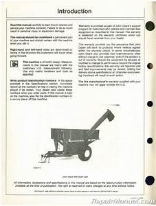 John Deere 500 Backhoe Service Manual