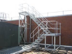 Industrial Steel Stairs Platform