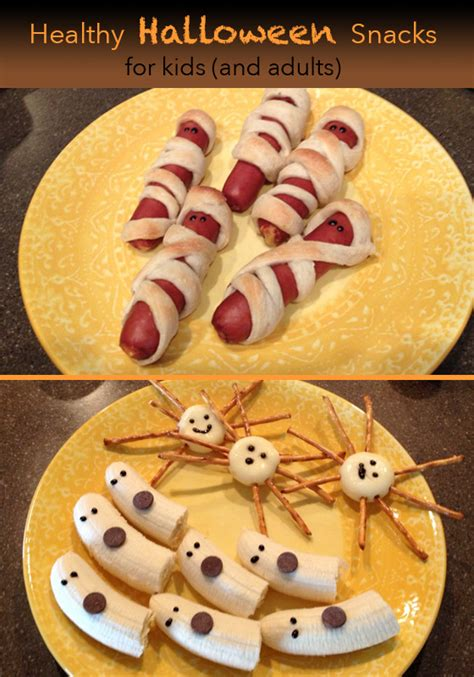 healthy snacks you can make with your kid 371 | HealthyHalloween