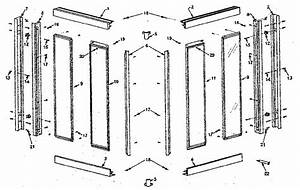 Sears Corner Entry Shower Doors Parts