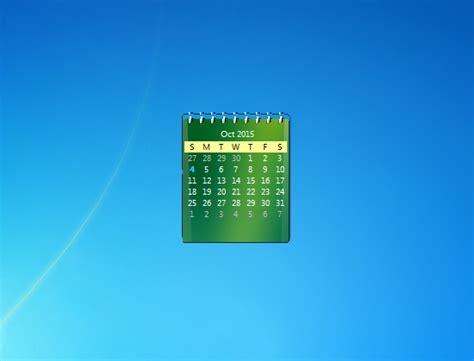 gadget bureau windows 7 zcalendar windows 7 desktop gadget