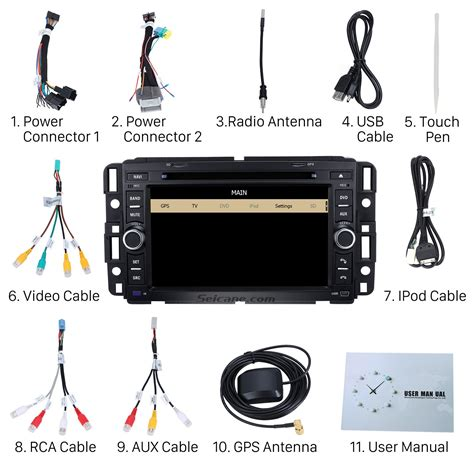2012 Chevy Impala Antenna Wiring Diagram by Chevrolet Impala Dvd Player Gps Navigation System With